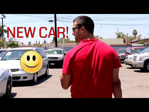 I BOUGHT A NEW CAR!