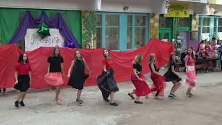 Фламенко.Танцевальный марафон.Танец 8 отряда