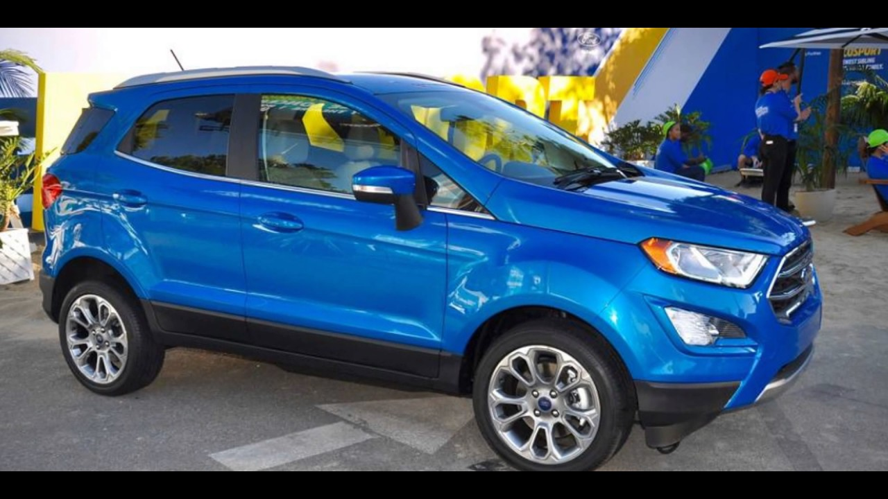 In 2018 new ford ecosport mpg suv