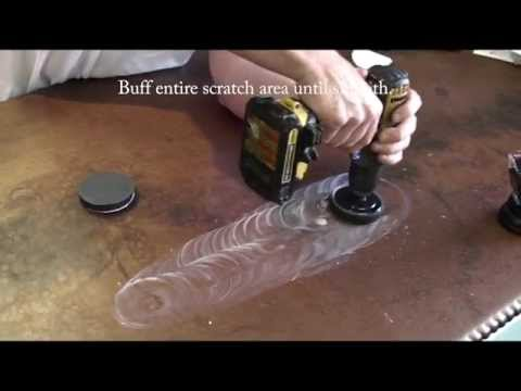 How to Remove a Scratch from Epoxy
