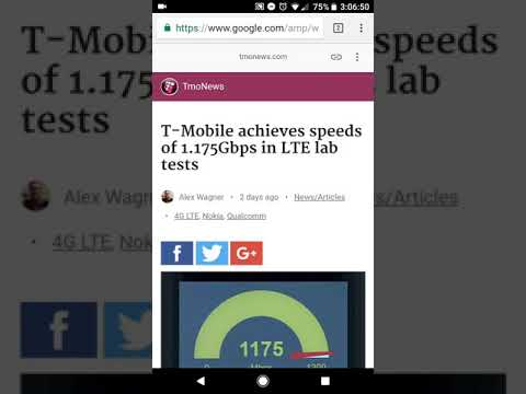 TMobile testing a really fast LTE chip