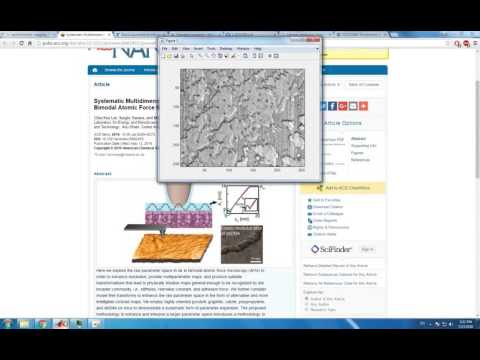 5 VideoTutorialAFM 4 PatrB Bimodal ComputingAdhesionElasticity
