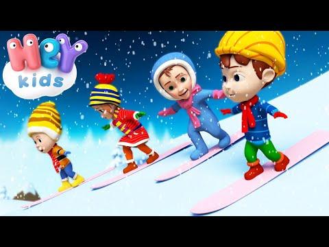 HeyKids – Caro Inverno – Cantece pentru copii in limba italiana