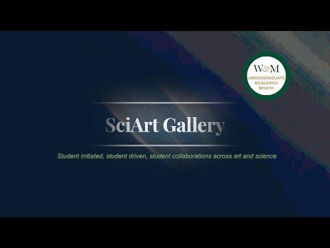 SciArt: An undergraduate research gallery