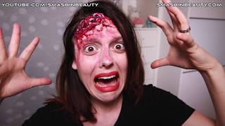 Video EASY 3D realistic exposed brain SFX Halloween makeup tutorial 2018 SMASHINBEAUTY download MP3, 3GP, MP4, WEBM, AVI, FLV Mei 2018