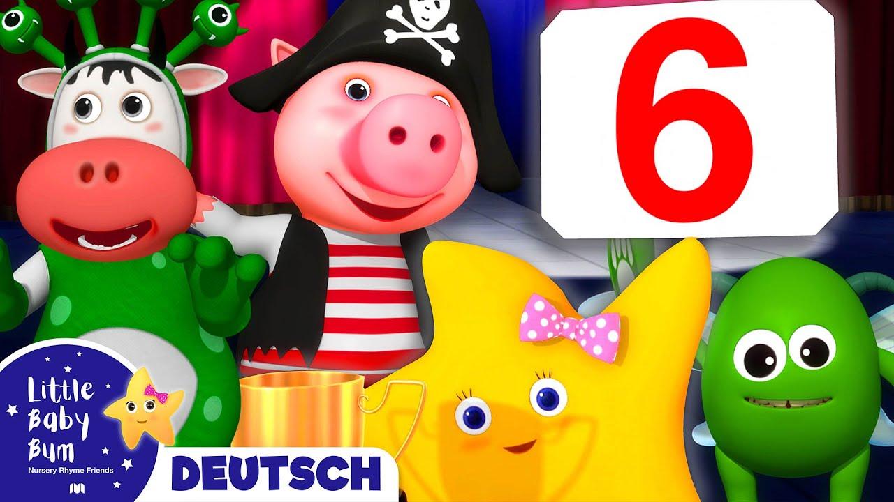 Verkleidet euch! Eine Halloween Party   Kinderlieder   Little Baby Bum Deutsch   Cartoons für Kinder