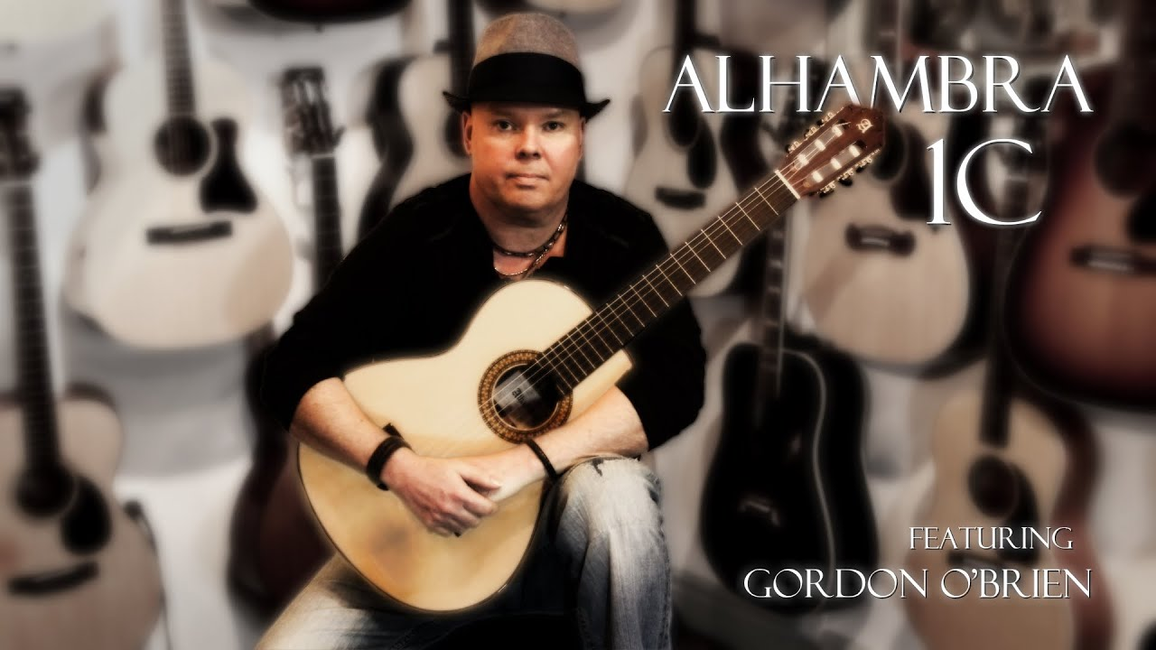 alhambra 1c guitar review featuring gordon o brien with loop