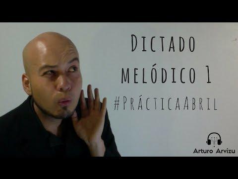 Dictado melódico 1 #PrácticaAbril
