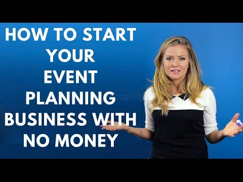 How to Start Your Event Planning Business with No Money
