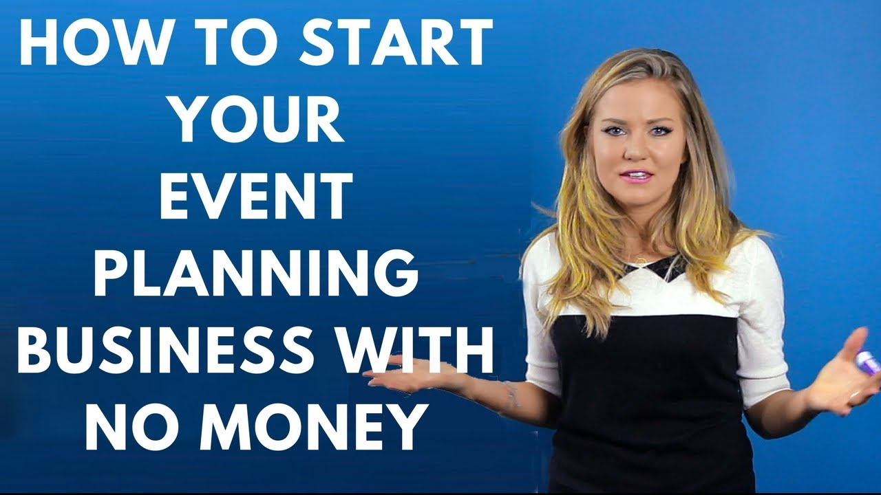 how to plan an event with no money
