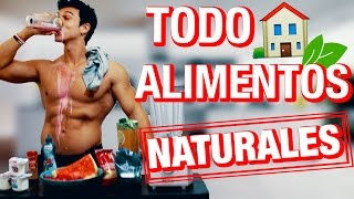 BATIDO PROTEICO CASERO | RECETA FITNESS NATURAL