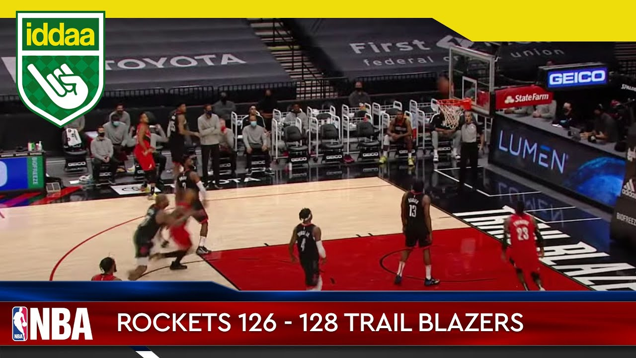 Houston Rockets – Portland Trail Blazers Maç Özeti