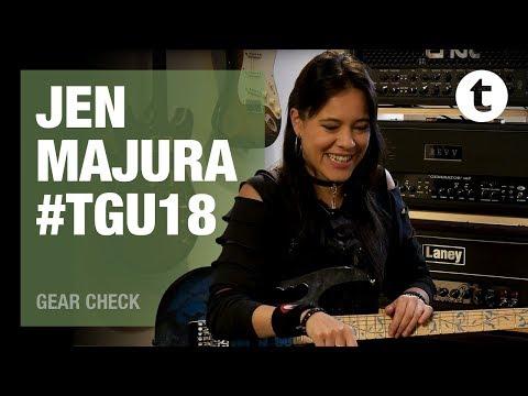 #TGU18 | Jen Majura from Evanescence | Geartalk