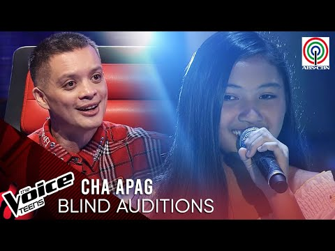 Cha Apag - Bukas Na Lang Kita Mamahalin | Blind Audition | The Voice Teens Philippines 2020
