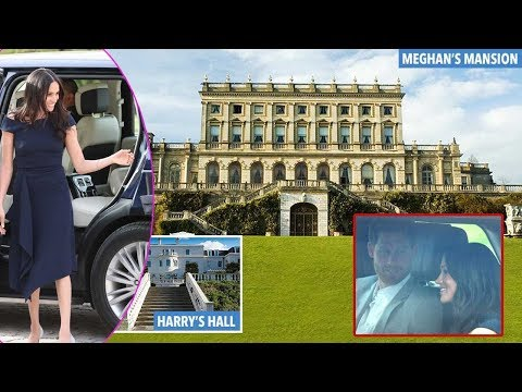Latest news: Meghan Markle arrives at Cliveden House hotel with mother Doria on evev of big day