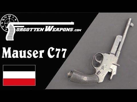 Mauser 1877 Single-Shot Pistol