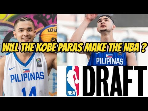 KOBE PARAS IS ENTERING THE 2018 NBA DRAFT !