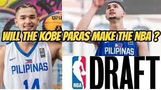 KOBE PARAS IS ENTERING THE 2018 NBA DRAFT !