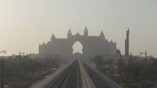 Monorail To Atlantis - Dubai Vlog 10