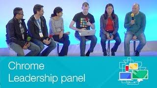 Chrome Leadership panel - Chrome Dev Summit 2014