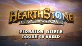 Rogue vs Druid - Hearthstone: Heroes of Warcraft - Gameplay (PC)
