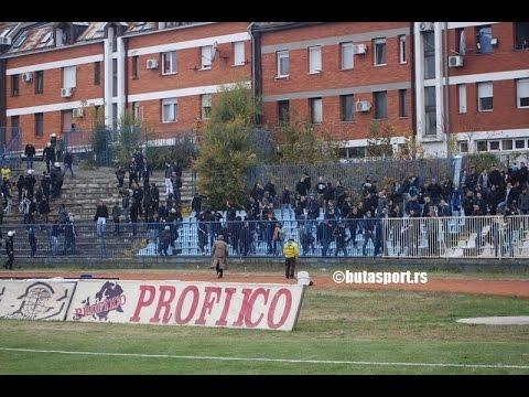 Haos na utakmici u Srbiji: Stotine Zemunaca ušlo na stadion i tuklo navijače OFK Beograd
