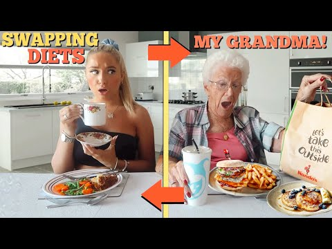 I swapped DIETS with my 75 year old NAN for 24hours!!