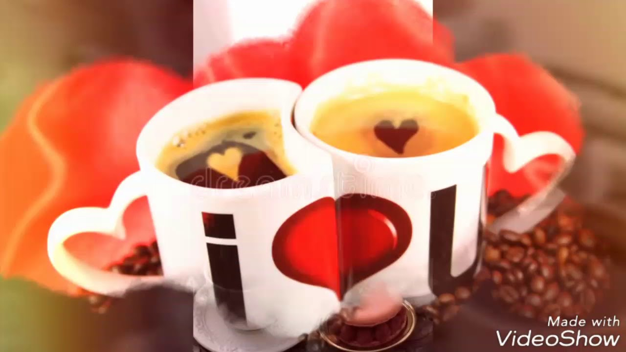 احلا مساء مع فنجان القهوة