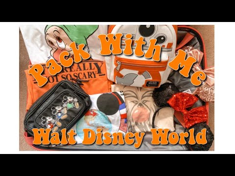 Pack With Me: Walt Disney World | Packing Tips | Magically Katelyn