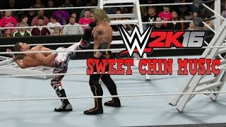 WWE 2K16 - Shawn Michaels SWEET CHIN MUSIC Compilation