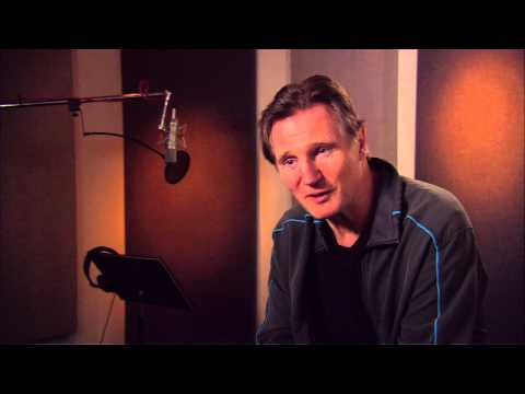 "The Lego Movie: Liam Neeson ""Bad Cop/Good Cop"" On Set Movie Interview"