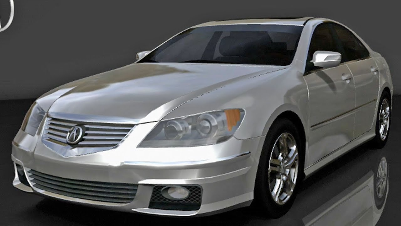 Forza Motorsport Acura RL ASpec Test Drive Gameplay HD - 2006 acura rl a spec