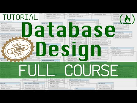 Database Design Course - Learn how to design and plan a database for beginners thumbnail