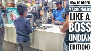 EPIC HOW TO ORDER MCDONALD'S LIKE A BOSS! (INDIAN EDITION) thumbnail