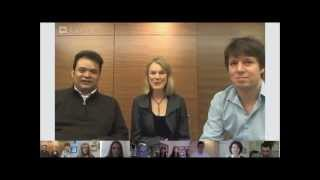 Joshua Bell and the Academy of St Martin in the Fields Google + hangout highlights