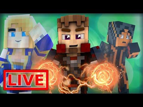 Minecraft FAIRY TAIL ORIGINS LIVE #41.1 (Minecraft Modded Roleplay)