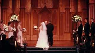Angela and Lucas | Wedding Film at Scottish Rite Cathedral in Indianapolis, Ind.