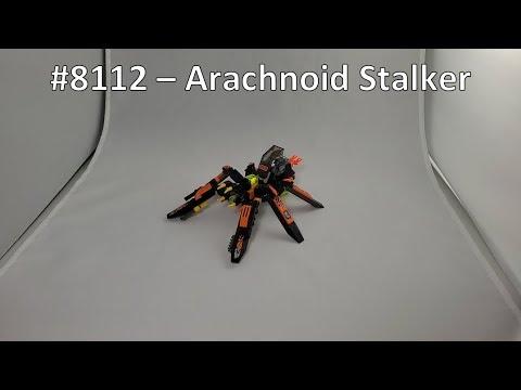 Lego Exo-Force Review - 8112 Battle Arachnoid