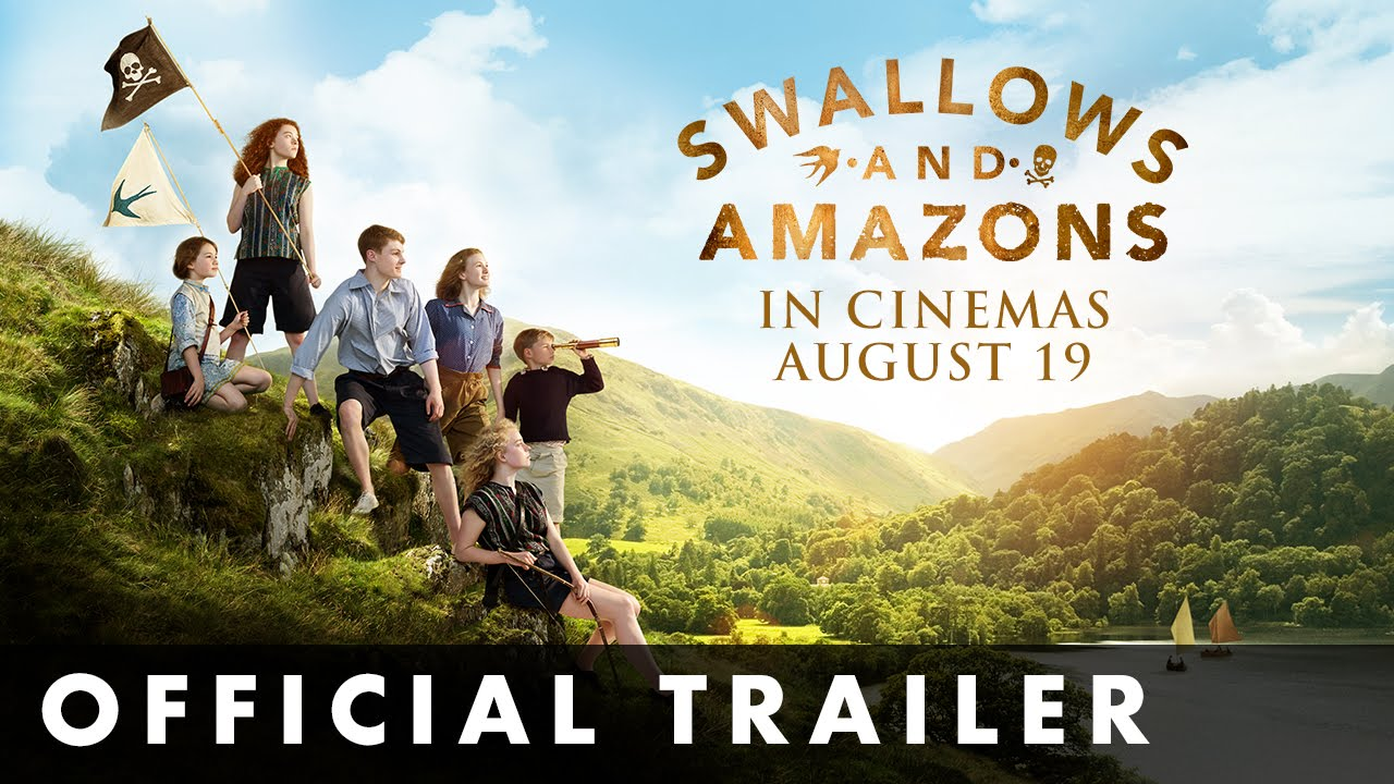 SWALLOWS & AMAZONS - Official Trailer -  Out now on DVD, Blu-ray and Digital