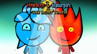 Fireboy And Watergirl 2: In The Light Temple Walkthrough