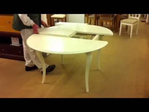 Comedores 110 mesa mesa redonda mesa redonda fija mesa for Mesa circular extensible