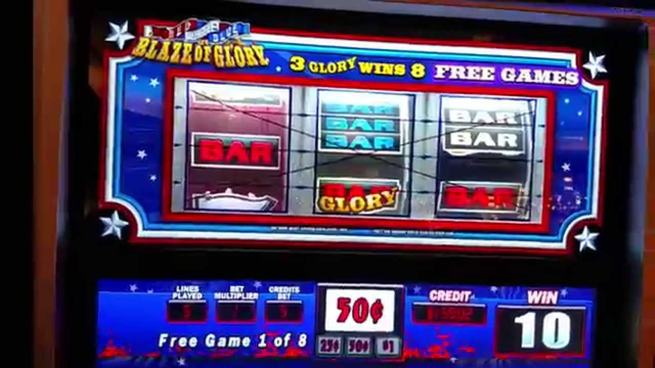 Red White and Blue Blaze of Glory Slot - Play for Free Now