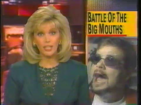 Howard Stern VS. Mancow Muller on Hard Copy (1995)