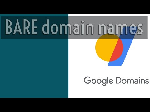 How to configure Google Sites website with bare domain name (no www) using Google Domains