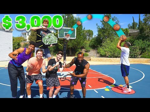 Last To Miss 3 Point NBA Jumper Wins $3,000 (Bank) Ft 2Hype