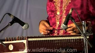 Santoor maestro Pandit Shiv Kumar Sharma performs in India