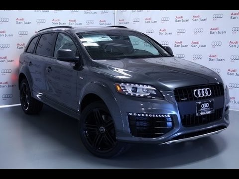 2015 audi q7 prestige youtube. Black Bedroom Furniture Sets. Home Design Ideas