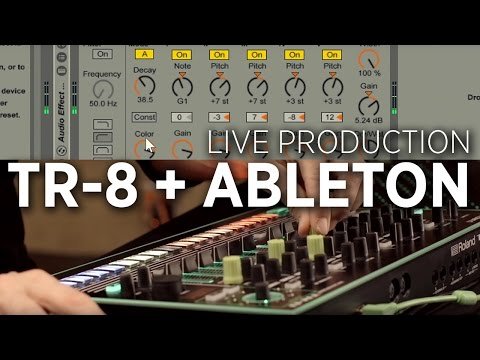 Using A Roland TR-8 To Play Expressive Synths In Ableton Live