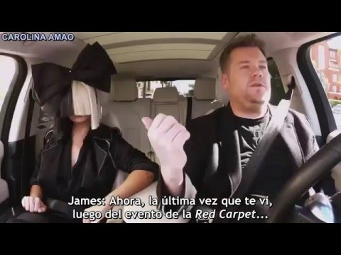 Sia Carpool Karaoke [Sub Español] - Parte 1