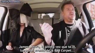 Sia Carpool Karaoke「Sub Español」P. 1 | By Carolina Amao